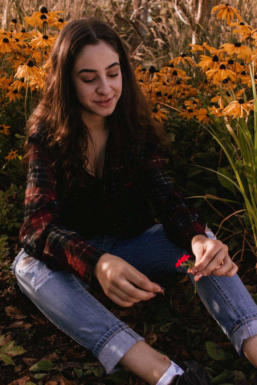 Sara Fakih, shot by Peyton Seigo