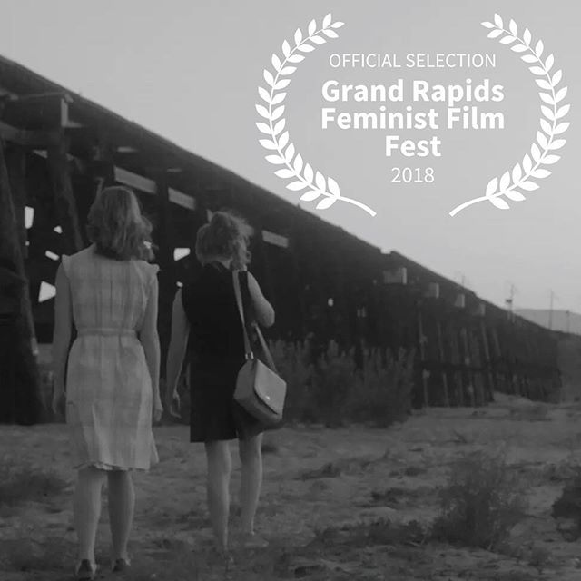 Grayscale is complete! Our first festival stop is the 2018 Grand Rapids Feminist Film Festival. Screening October 13th! . . . . . #grayscale #shortfilm #indiefilm #film #blackandwhite #photography #actress #actor #landscape #desert #1960s #1960sfashion #cinematography #filmfestival #officialselection