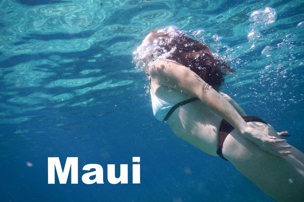 maui swimming