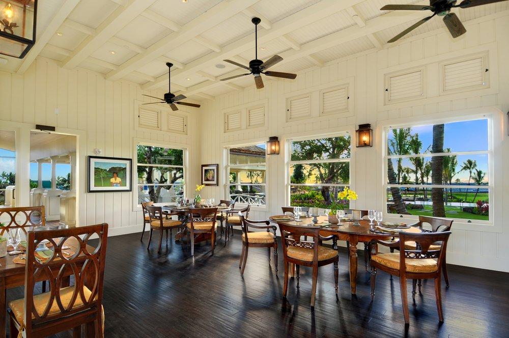 5.Kukui'ula Plantation House dining.JPG