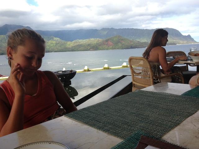 Choosing breakfast Makana Terrace #kauai #princeville copy.jpg