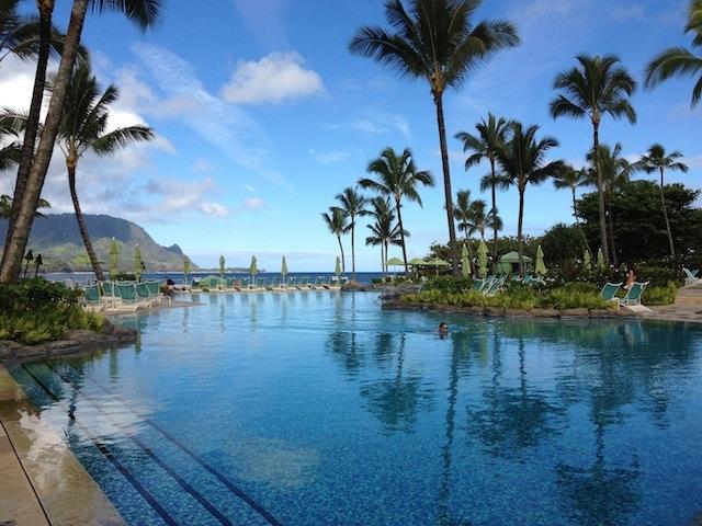Early morning swim at the St. Regis Princeville #kauai #princeville copy.jpg