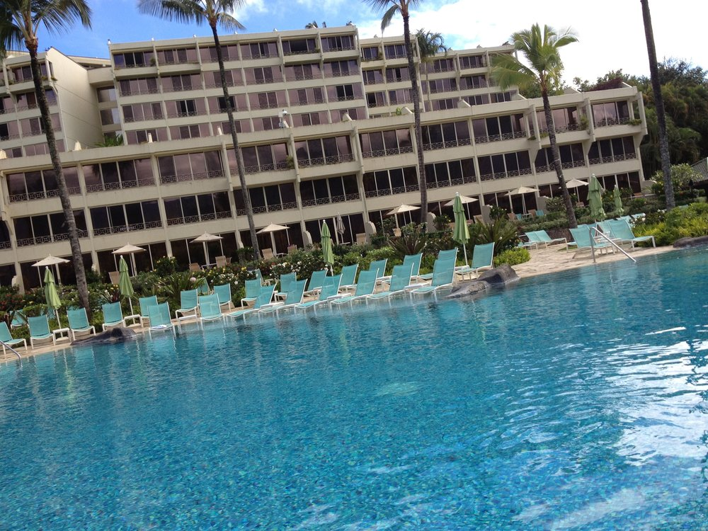 Kauai  - Lounge chairs in the water at the St. Regis Princeville.jpg