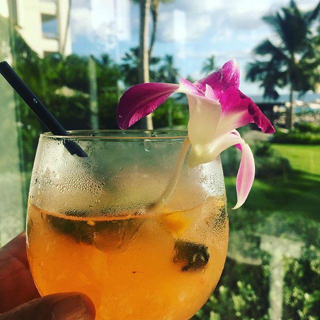 Introducing the #WestSideMojito @fsoahu  #cocktails #hawaii #Lethawaiihappen #vacation