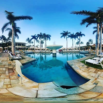 Guess who just learned how to use #Googlesteetview — we are going to miss this beautiful pool @fsmaui a hui hou!  #maui #wailea @wailearesort #lux #travel #beach