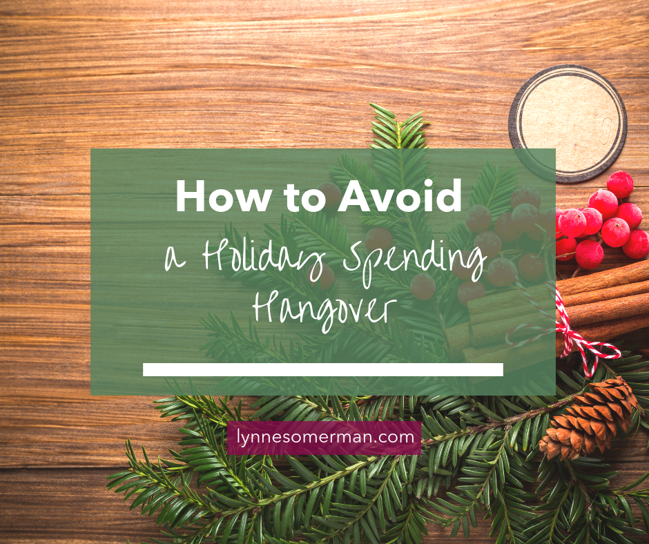 Personal finance tips || How to avoid a holiday spending hangover by The Wiser Miser. Here's how to budget your money to avoid a holiday spending hangover.