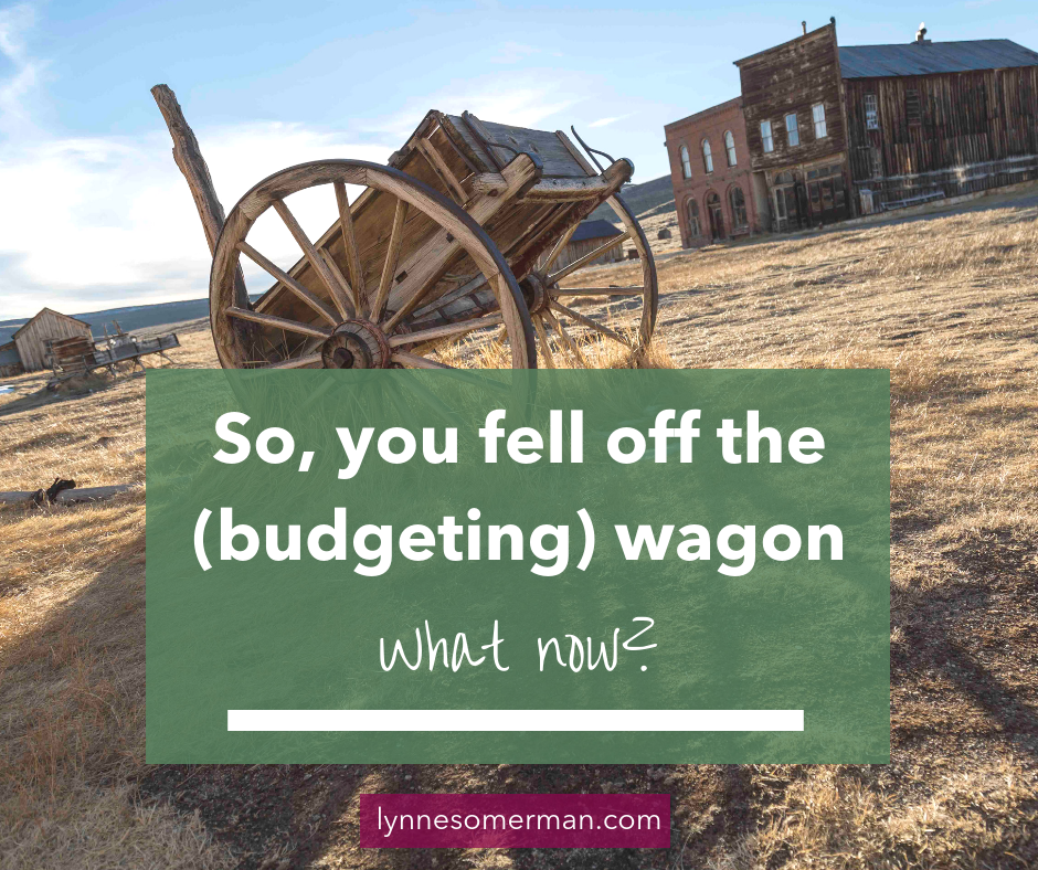 Budgeting tups || How to get back on the budgeting wagon by The Wiser Miser. In need of budget help? The answers you need are right here.