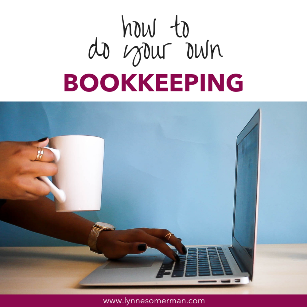 Small business finance tips || How to do your own bookkeeping by The Wiser Miser. Learn more about doing your own small business bookkeeping.