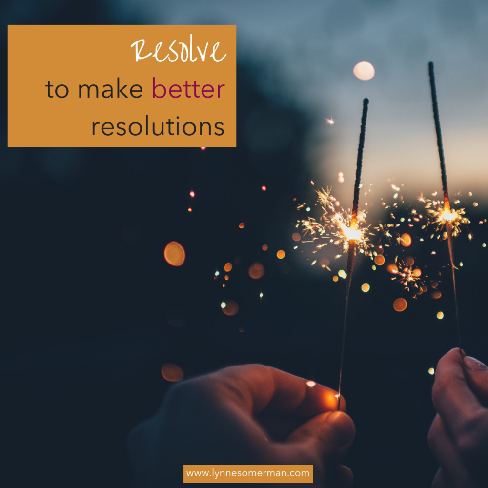 Personal finance advice || Resolve to make better resolutions by The Wiser Miser. Make better resolutions when it comes to learning how to manage your money.