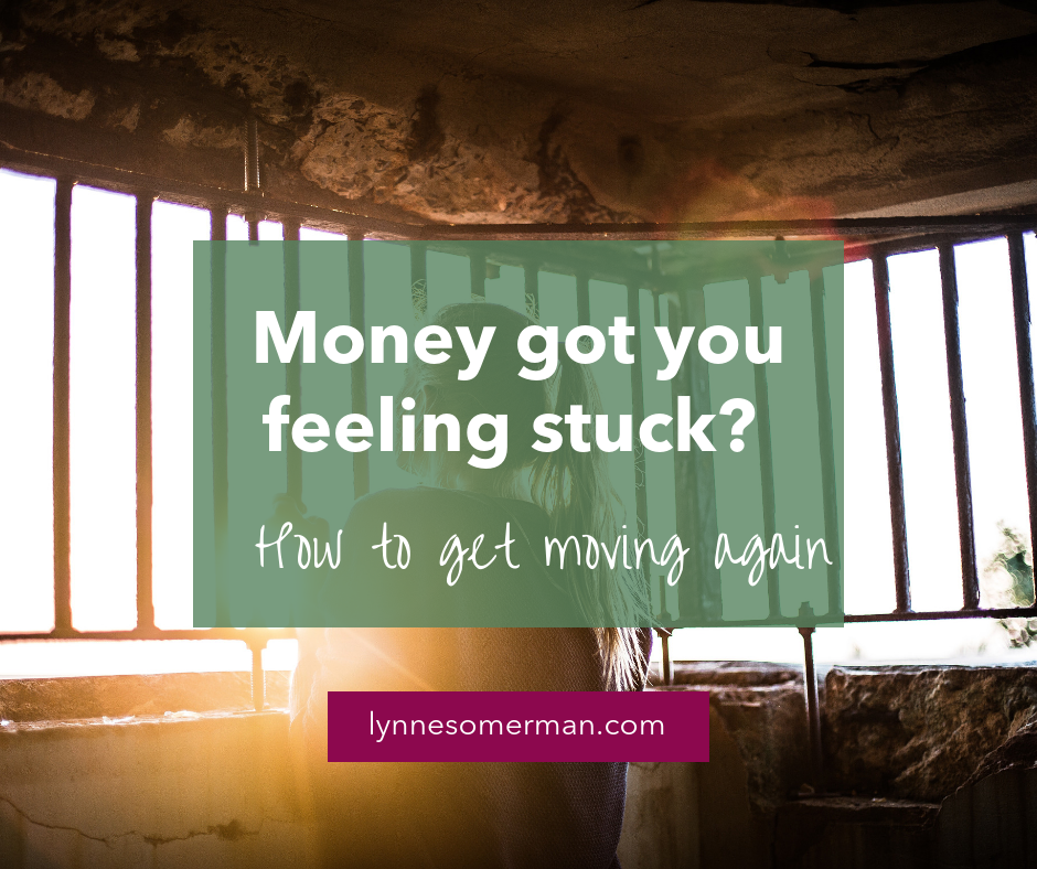 Money got you feeling stuck? How to get moving again by The Wiser Miser. Money got you feeling stuck? Here's how to get moving again with some personal money management advice.
