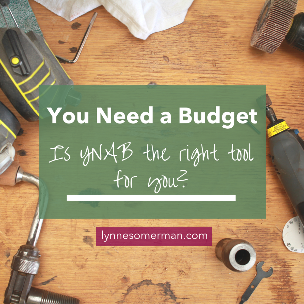 Personal finance advice | Small business finance tips || You need a budget - how to tell if YNAB is right for you by The Wiser Miser.