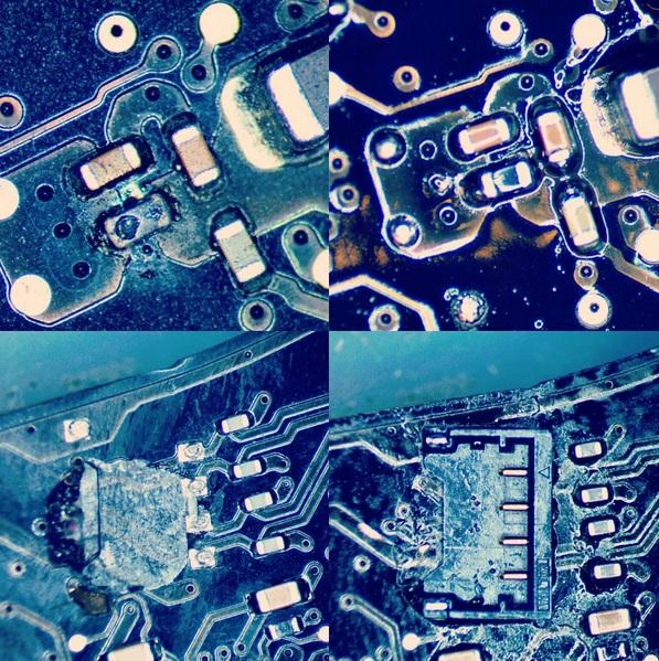 Logic Board Micro Soldering Repair Services — Micro