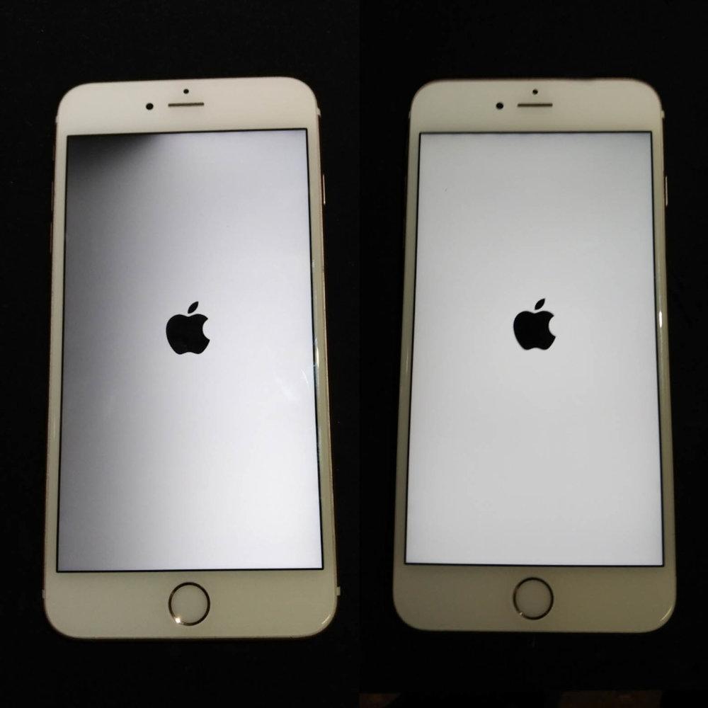 Iphone  Broken Backlight