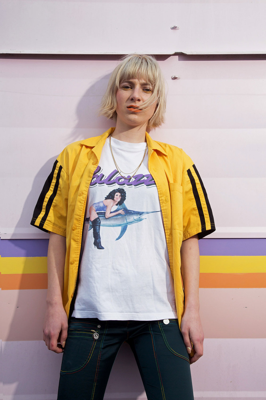 Shirt: Pit Shirt T-Shirt: Palace Pants: Dior Jewellery: Vintage