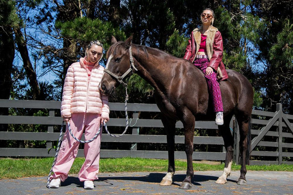 Rain Turtleneck: Woodward Puffer: Vintage Pants: Stylists Own Shoes: Reebok Pump Fury's  China Sunglasses: Stolen Girlfriends Club Jacket: Vintage Top: U-G Boyd Pants: Vintage Shoes: Nike AF1's