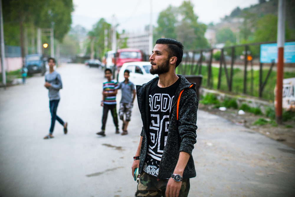 Emcee Ame, Kashmir - Still image from 'Sounds Of The People'