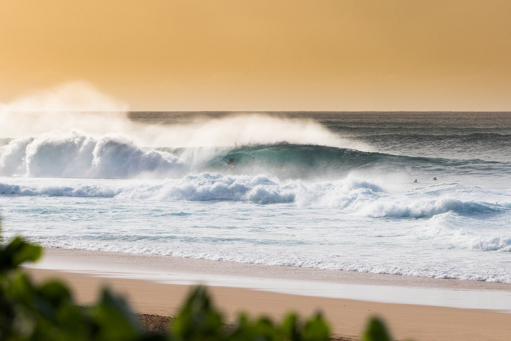 John John Florence on a late afternoon Christmas Day Pipeline drainer, it's moments like this that have me going back year after year.
