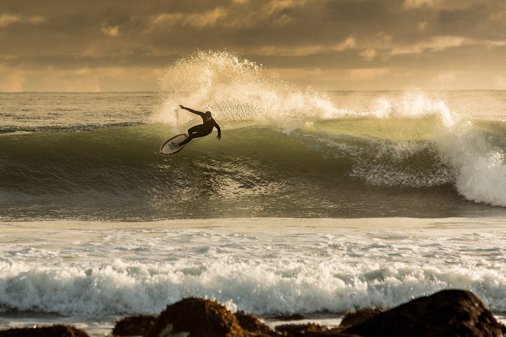 "Whenever people ask for advice about shooting surf photography, the first thing I say to them is; ""the golden hours are exactly that""."