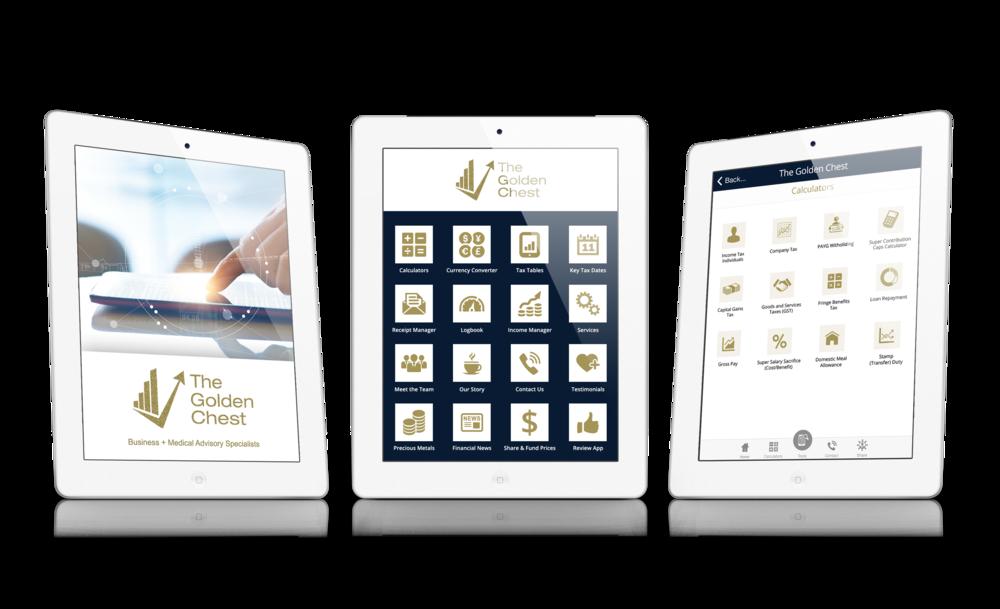 The Golden Chest App