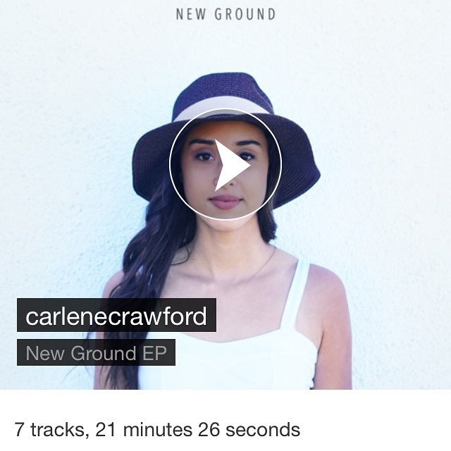 Hey, guys! My EP I released in June, New Ground, is now on SoundCloud 🎶