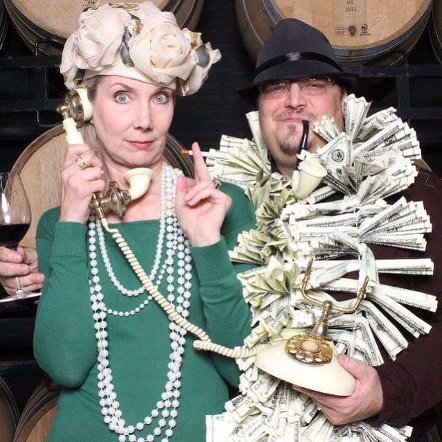 If you are going to use props for an upscale event or wedding... Make sure to keep it classy!! #themeprops