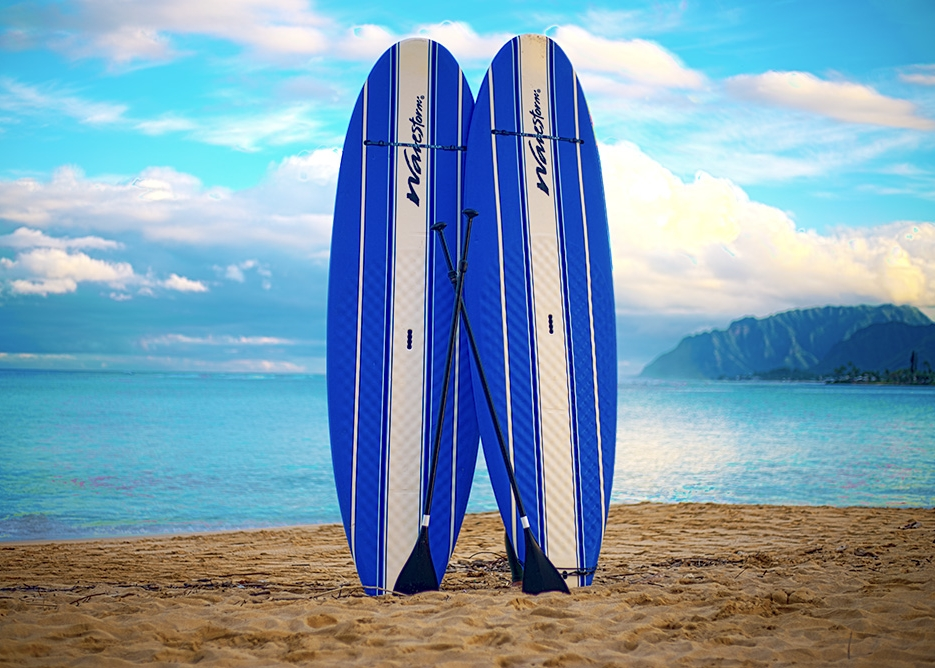 Oahu Beach Gear Rentals - Stand Up Paddle Boards (SUPs)