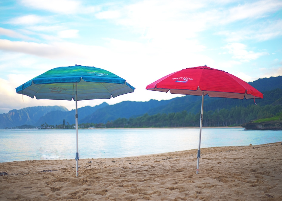 Oahu Beach Gear Rentals - Umbrellas