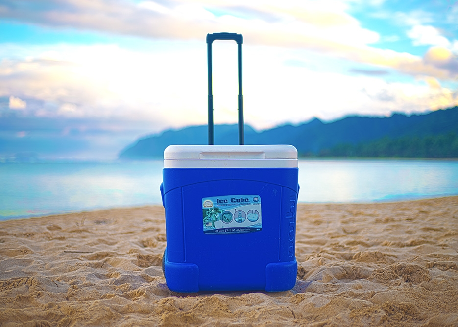 Oahu Beach Gear Rentals - Coolers with Ice