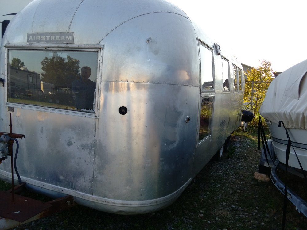 1964 Airstream Overlander as mobile gallery unit