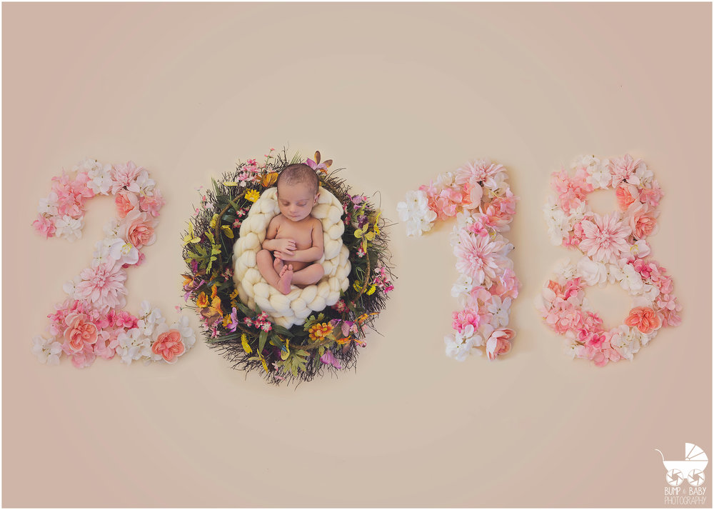 Newborn-Baby-Girl-in-wreath-and-2018-new-year-card.jpg