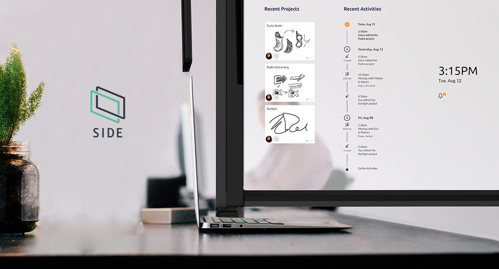 SIDE x Dell System Design, UX/UI, Product, Branding
