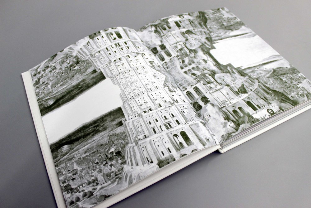 Lost in Translation Book Design, Spatial Installation