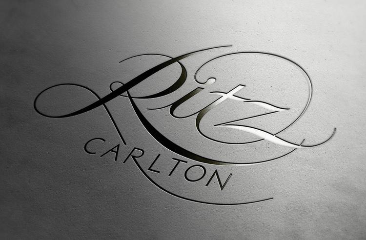 Ritz-Carlton Lettering Lettering, Branding