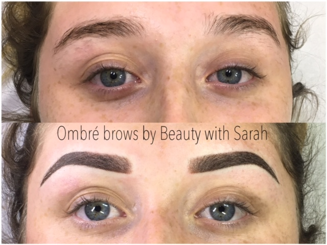 Beauty with Sarah - Ombre Brows
