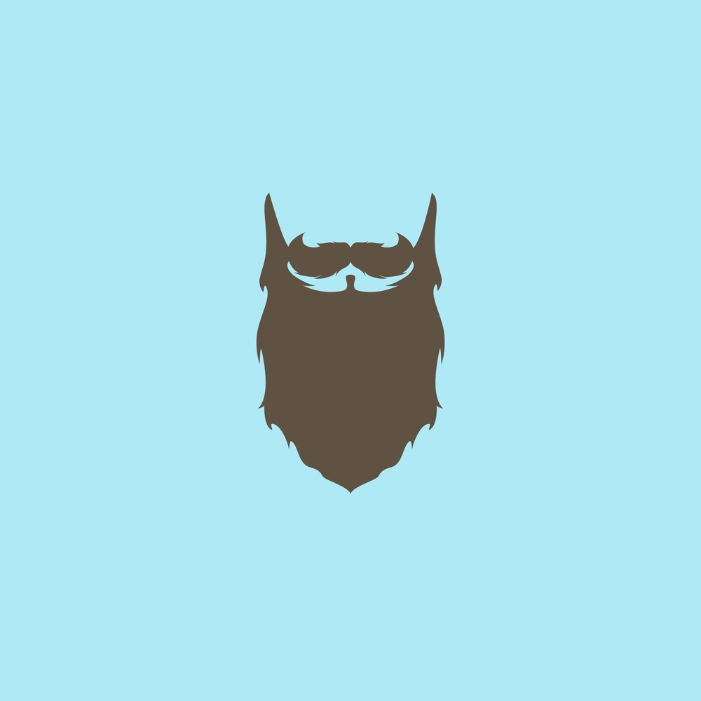 Flat Beard - Apollo Creative Co - Hampshire Graphic Design