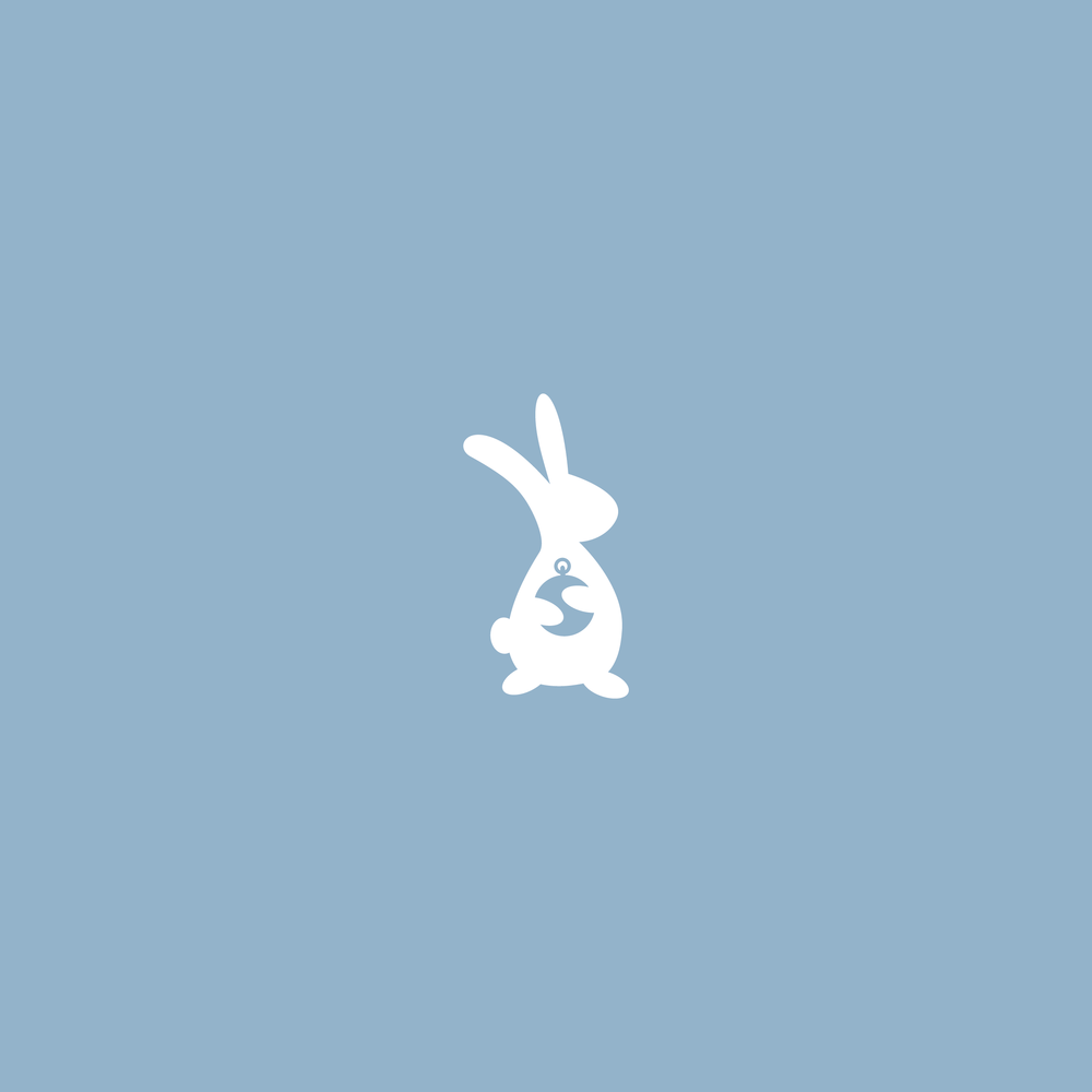 The White Rabbit Logo - Apollo Creative Co - Hampshire Graphic Design