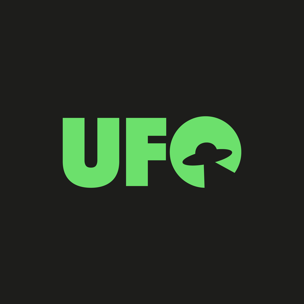 UFO Logo - Apollo Creative Co - Hampshire Graphic Design