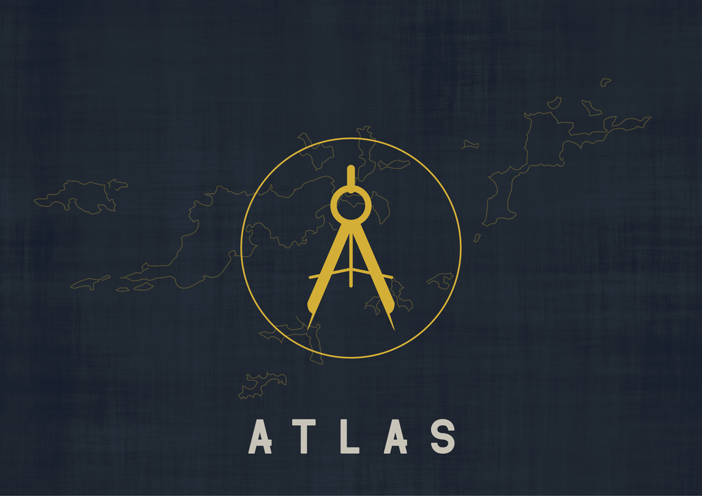 Atlas Logo - Apollo Creative Co - Hampshire Graphic Design