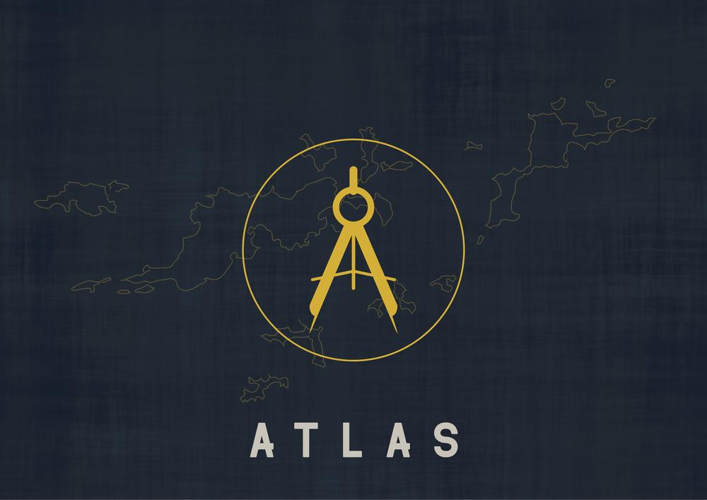 Atlas Logo - Apollo Creative Co - Hampshire Graphic Design