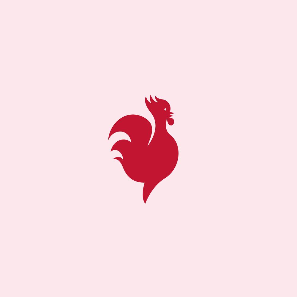 Rooster Logo - Apollo Creative Co - Hampshire Graphic Design