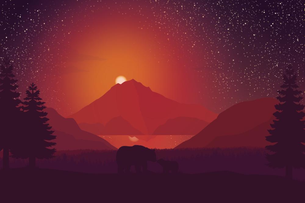 A Starry Night - Apollo Creative Co - Hampshire Graphic Design