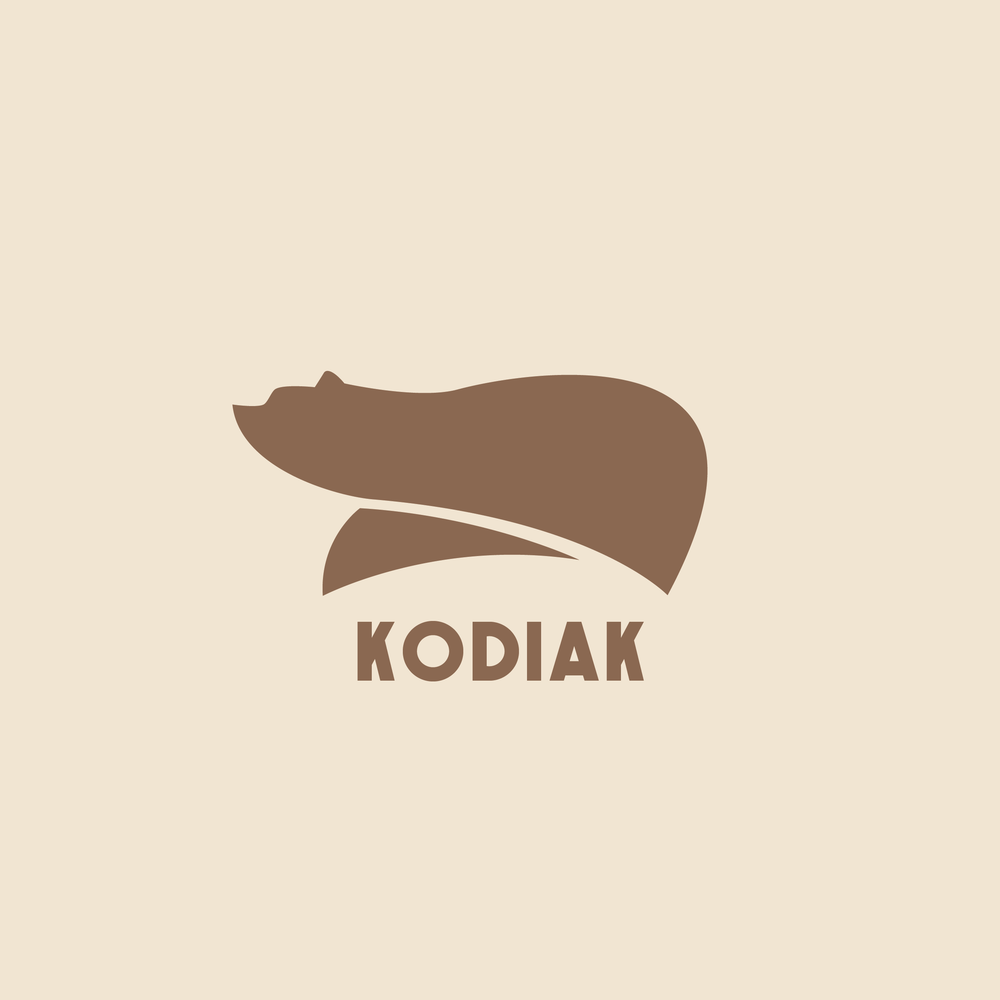Kodiak Logo - Apollo Creative Co - Hampshire Graphic Design