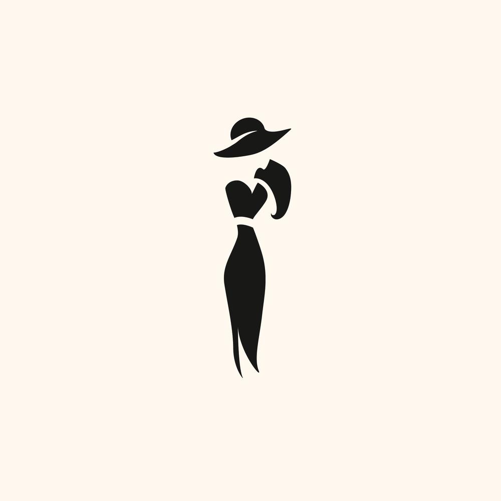The Woman Logo - Apollo Creative Co - Hampshire Graphic Design