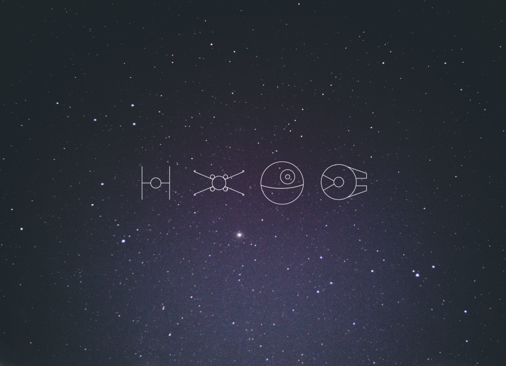 Star Wars Icons - Apollo Creative Co - Hampshire Graphic Design