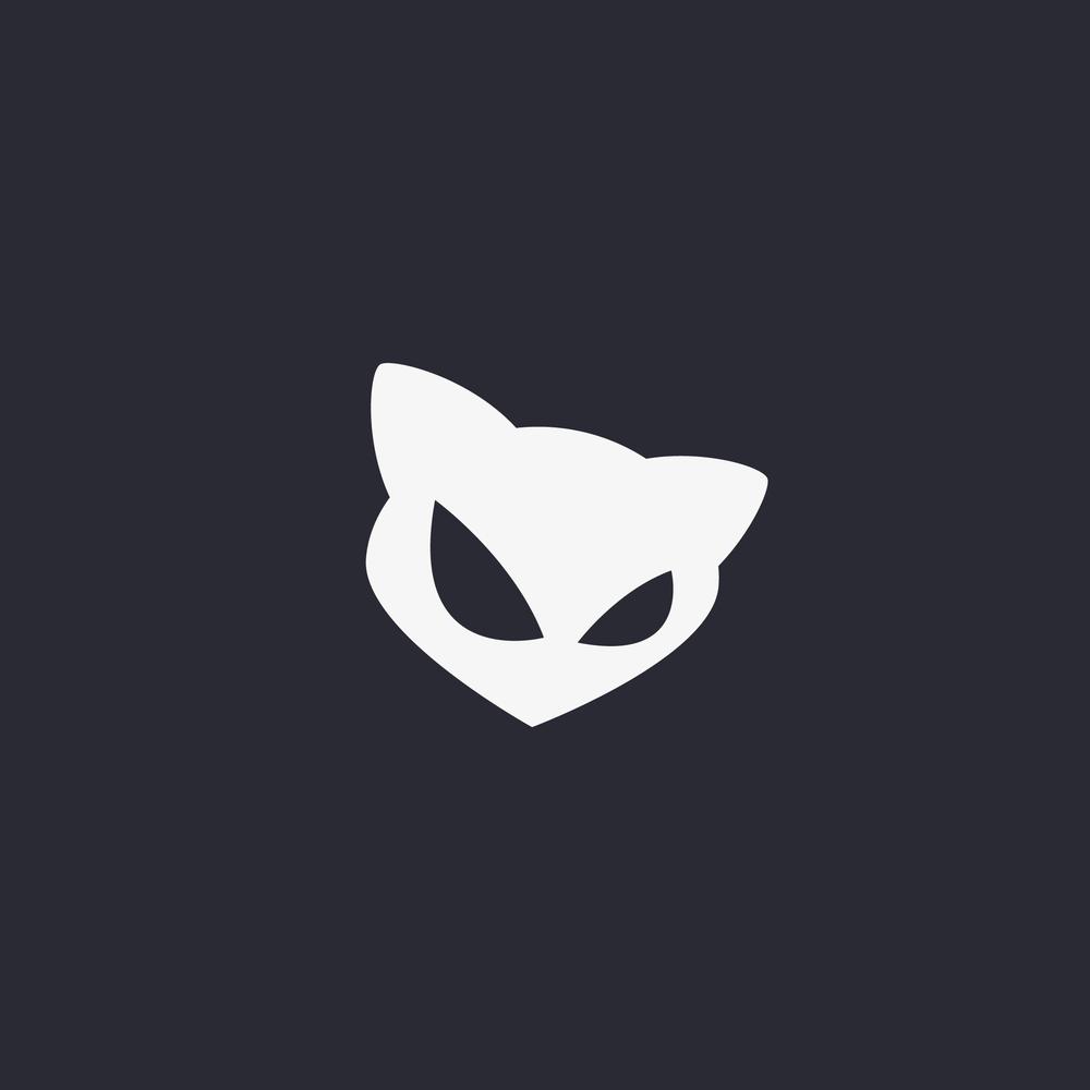 Evil Cat Logo Design -  Apollo Creative Co. - Hampshire Graphic Design