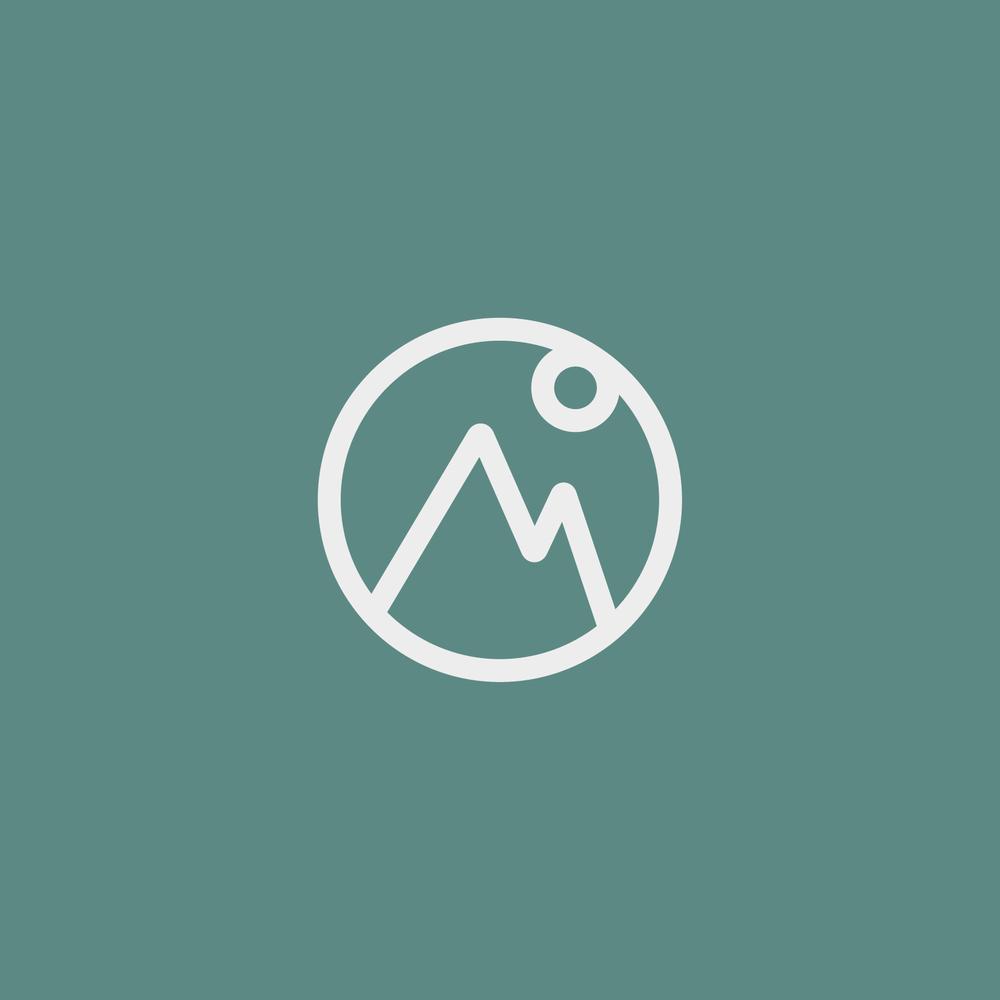 Landscape Logo - Apollo Creative Co. - Hampshire Graphic Design