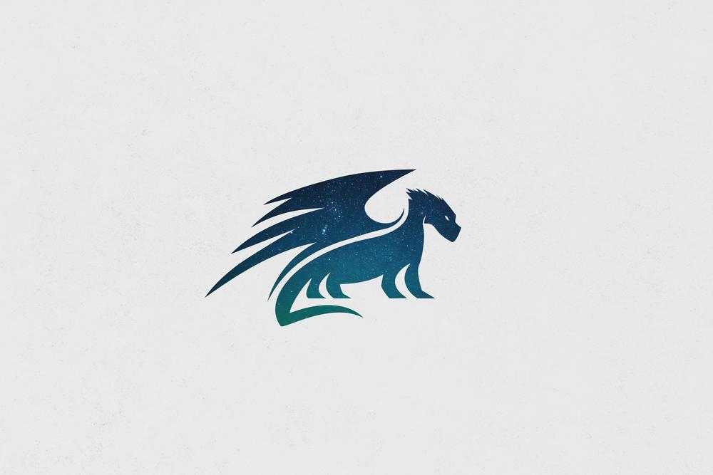 Dragon Logo Design - Apollo Creative Co - Hampshire Graphic Design