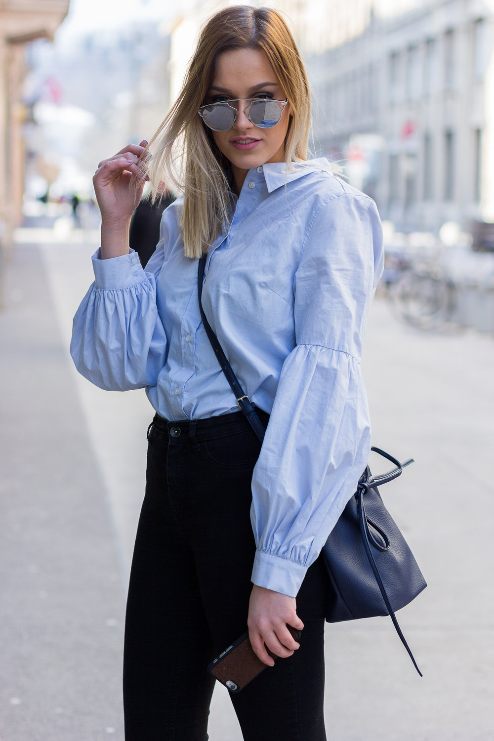 mainstream chic street style