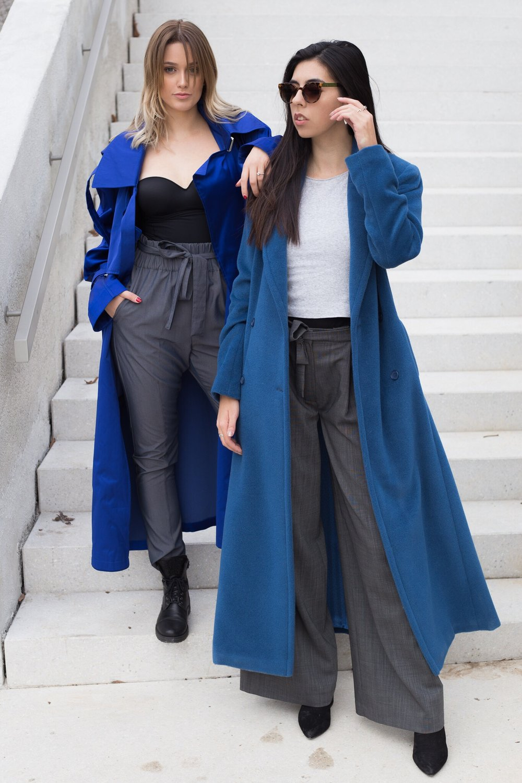 LARA: JSP Fashion coat & pants // MARIJA: Princip Fashion coat & Janja Videc pants