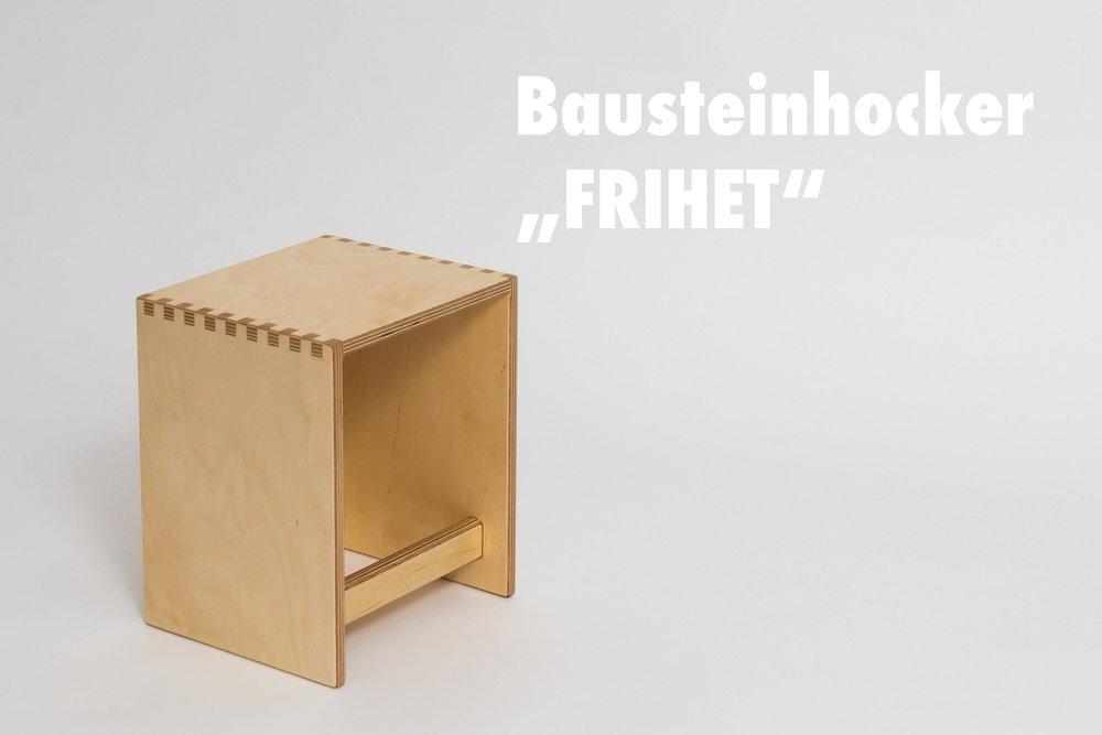 Frihet Bausteinhocker